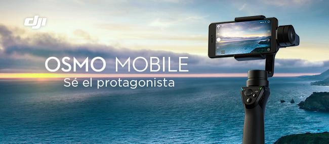Convierte tu teléfono en una cámara profesional con el Osmo Mobile.