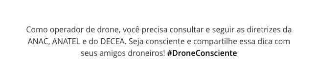 Como operadr de drone